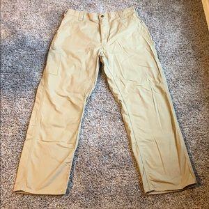Carhartt men's tan pants 36 x 32 like new